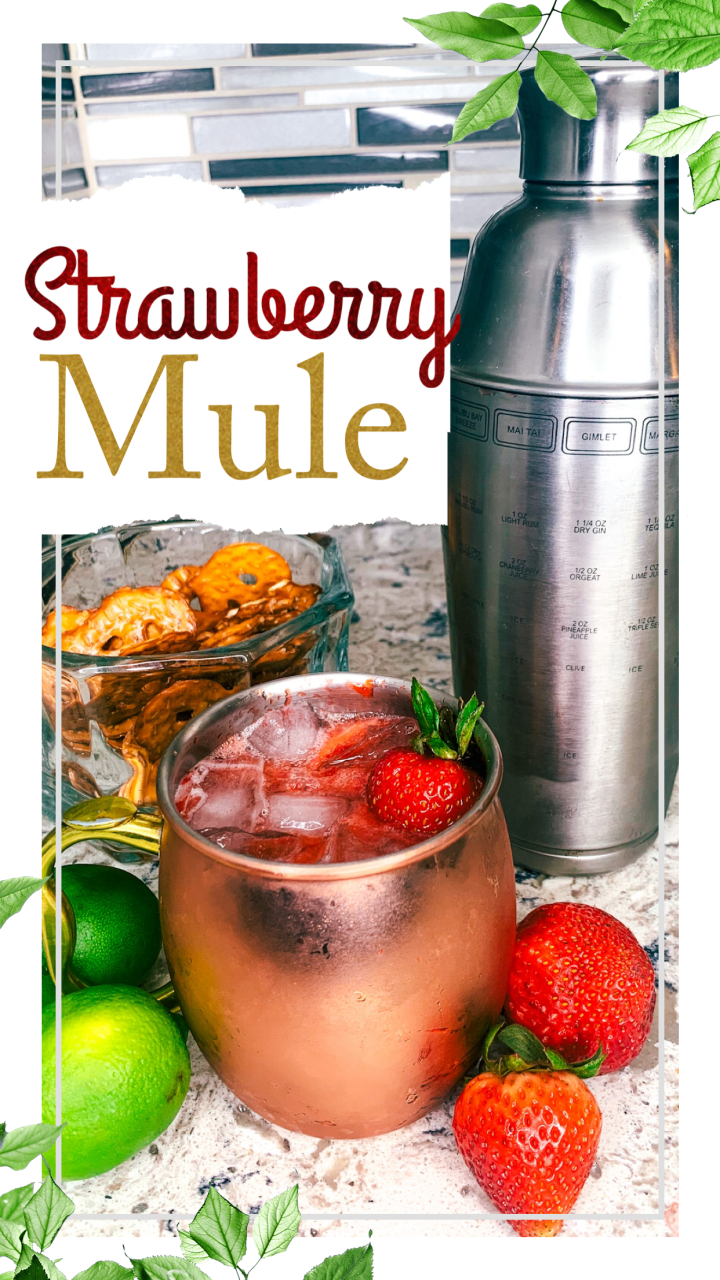 How To Make A Strawberry Mule