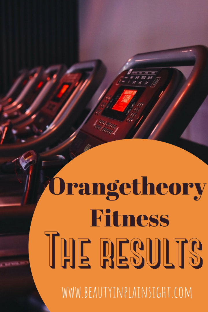 ORANGETHEORY CHANGED MY BODY