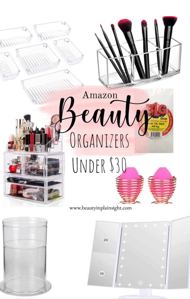 Best Beauty Organizers Under $30
