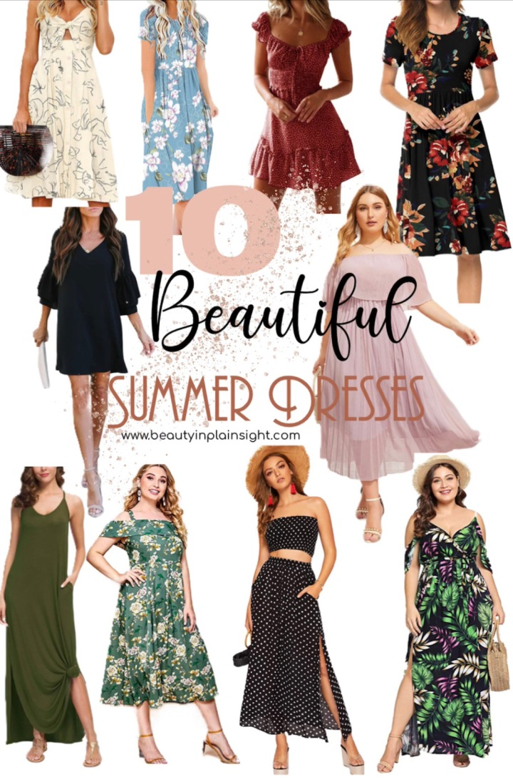 Stylish Summer Dresses Under $40